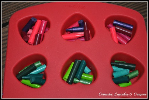 Grouping Crayons By Color