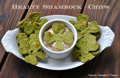 Healthy Shamrock Chips