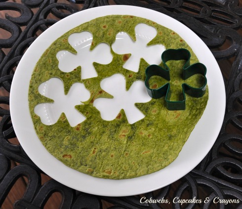 Shamrock Cookie Cutter Chips